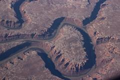 Bowknot Bend/Labyrinth Canyon/Green River (Dan Brekke) Tags: utah aerial greenriver bowknotbend