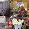 Lotus flower seller (bindubaba) Tags: cambodia phnompenh buddhism lotusflowers streetsellers