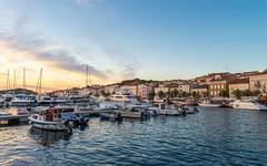 Mali Lošinj (02) - sunset (Vlado Ferenčić) Tags: sunset summer malilošinj otoci hrvatska hrvatskiotoci islands islandlošinj otoklošinj croatia croatianislands jadranskomore jadran adriatic sea adriaticsea nikond600 nikkor173528 boats kvarner