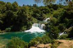 KRKA (HR) (rikka1976) Tags: krka croazia parco cascata fiume torrente lago verde smeraldo sentiero sibenik cascate naturale