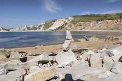 Worbarrow bay (Mark Rigler UK) Tags: lulworth dorset tyneham beach bay sea cove