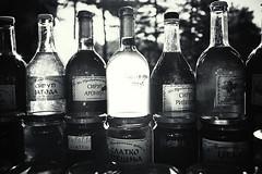 DSCF3491.jpg (igo.rs) Tags: bottle drink food glass beverage light closeup black white