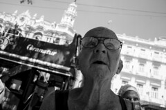 old man in cuba trying to sell me cigar (Eddie Deponeo) Tags: cuba street 28mm bnw photography blank