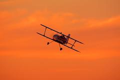 The beast with sunset (Jaapio) Tags: model aviation rmvc rmvcalouette rc rcairplane aircraft radio radiocontrolled multiplex horrizon hobby beast