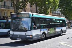 RATP Paris 7429 944-QBA-75 (Will Swain) Tags: paris 18th july 2016 bus buses transport travel vehicle vehicles county country europe france french capital city centre parisien ile de ledefrance le gare lest ratp 7429 944qba75