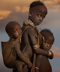 Ethiopia. Hamar Tribe, Omo Valley //  by Stephen Wallace on 500px (mike catalonian) Tags: children portrait photography color omovalley hamartribe ethiopia stephenwallace