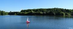 Sailing (MacroManni) Tags: deutschlan germany nrw rheinerftkreis kaster see segelboot