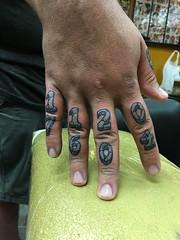 Lil finger job.