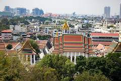 View from the top of the Golden mount (Context Travel) Tags: bangkok shutterstock