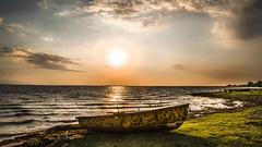 Sunset on the Kizilirmak Delta (drstar.) Tags: delta lake sunset kzlrmak nikond610 flickr flickrturkey