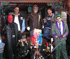 Hollywood Blvd. Super Villian Day (Vinny Gragg) Tags: catwoman harleyquinn katana redskull diablo killercroc captainboomerang theriddler riddler costume costumes cosplay monster killer monsters dccomics dc marvelcomics marvel marveluniverse prettygirls prettywoman sexywoman girl girls superheroes superhero comics comicbooks comicbook villian villians supervillian supervillians hollywoodblvdcinema hollywoodblvd cinema movie show movietheaters movietheater woodridge illinois woodridgeillinois suicidesquad thesuicidesquad wearecosplay