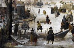 Winter Kolf, detail, 1615 (Mr. History) Tags: canal avercamp dutch netherlands