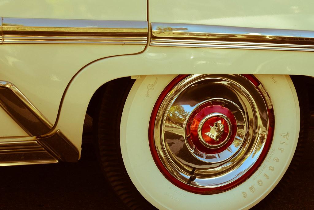edmonds car show tags classic vintage car wheel whitewall tire