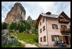 Rifugio 5 torri (Teone!) Tags: dolomiti cortina rigugio alpinehut dolomites alpi alps veneto italia italy hutte cortinadampezzo