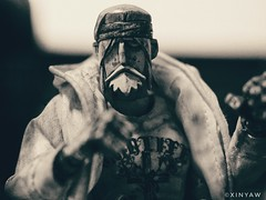 Fight (XINYAW13) Tags: toy toyphotography toys threea 3a ashleywood actionfigure figure adventurekartel fighting