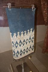 Sarawak shell skirt (quinet) Tags: 2015 aborigne borneo iban kuching kuchingtextilemuseum malaysia sarawak ureinwohner aboriginal native