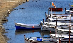 Portlligat, the home of the Casa-Museu of Salvador Dali (jackfre 2) Tags: catalunya spain portlligat fishervillage cadaques homeofsavadordali cove bay houses picturesque