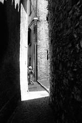 Shadow Alley (stefankamert) Tags: stefankamert shadowalley alley street bw baw sw noir noiretblanc monochrome mono city town light shadow fujifilm fuji x100 x100s blackandwhite blackwhite