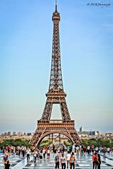 Eiffel Tower from Trocadero Esplanade, Paris (Darren Reichel) Tags: paris eiffeltower