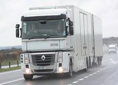 Renault Magnum drawbar (fannyfadams) Tags: truck wagon renault lorry magnum anglesey northwales a55 drawbar gaerwen mrtomcat