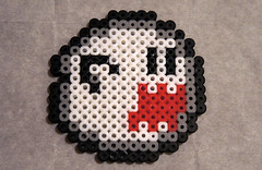 Boo (jordexciu) Tags: art beads crafts nintendo videogames pixel sega sprites perler perlerbeads