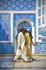 TILE WORK (smrafiq) Tags: pakistan heritage work tile shrine colorful tiles historical devotees sindh cultural mane latif tilework smrafiq bhitshah bhittai shahabdullatifbhitai cnon60d