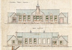 Comrie school elevations, 1907 (P&KC Archive) Tags: school architecture children scotland education perthshire archives 20thcentury elevations comrie localhistory perthandkinross buildingplans ecsochistory