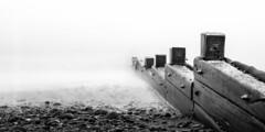 Sea Mist (Nigel Jones LRPS) Tags: wood longexposure sea mist beach wet misty fog kent smooth foggy pebbles groyne dover seadefence stmargaretsbay nd110