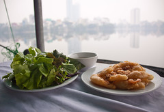 Fried Shrimp Cake Appetizer in West Lake District - Hanoi, Vietnam (ChrisGoldNY) Tags: city travel urban food cakes poster asian salad yummy asia southeastasia vietnamese forsale meals shrimp vietnam delicious crispy viet viajes foodporn greens tables posters albumcover plates bookcover dishes hanoi appetizers fried bookcovers albumcovers eater consumerist indochina vn gridskipper jaunted chrisgoldny chrisgoldberg chrisgold chrisgoldphoto chrisgoldphotos