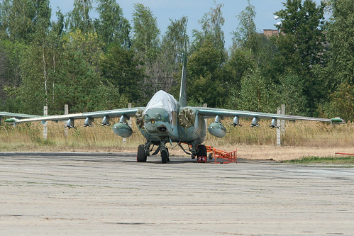Sukhoi Su-25SM Frogfoot 'RF-95486 / 06 red'