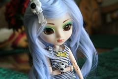 Haruhi (Pullip Prunella) (sonniegir17) Tags: blue skye pullip prunella