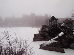Lake Mohonk and Mohonk Mountain House (JFGryphon) Tags: winter newpaltz mohonk mohonkmountainhouse lakemohonk