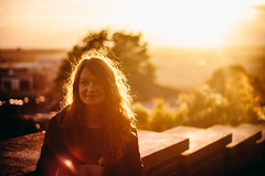 Spadge (JamieTakes.Photos) Tags: sunset girl lens model lincoln flare spadge