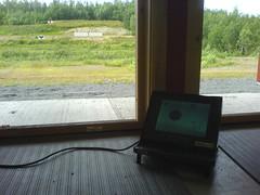 """Elektronisk 100 meter. Endelig er elektronikken på plass • <a style=""""font-size:0.8em;"""" href=""""http://www.flickr.com/photos/93335972@N07/8513101501/"""" target=""""_blank"""">View on Flickr</a>"""