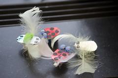 Vier bristlebots (Waag | technology & society) Tags: amsterdam kids robots workshop waag electra technologie knutselen plakken nieuwsgierig maken knippen creatief techniek waagsociety fablab solderen bristlebots fabschool fabschoolkids