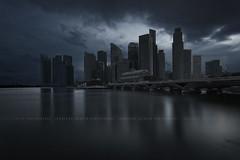 Dead City (draken413o) Tags: city architecture digital dead singapore cityscape different skyscrapers cbd blend