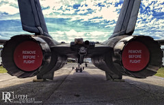 Wild Ride (Dennis Cluth) Tags: museum airplane fighter florida air jet warplane iphone