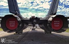 Wild Ride (Dennis Cluth) Tags: museum airplane fighter florida air jet warplane iphone