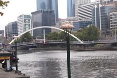 Melbourne Australia Southbank footbridge (SFBart in Palm Springs) Tags: au australia melbourne vic 1000views