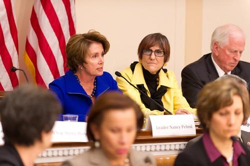 Congresswoman Pelosi discusses the preve by Speaker Nancy Pelosi, on Flickr
