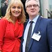 Miriam O'Callaghan, Conference 2013 Chairman and Conor O'Kane, GM, Maldron Hotel Cardiff Lane.