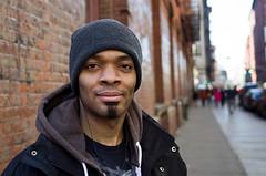 "Joe: ""Details are important to me"" (proof_by_contradiction) Tags: street nyc portrait newyork fav50 soho fav25 fav100 fav75 pentaxm28mmf20"