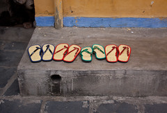 Sandals in a Row - Hoi An, Vietnam (ChrisGoldNY) Tags: city travel urban colors canon poster asian shoes colorful asia southeastasia vietnamese colours forsale sandals compositions unescoworldheritagesite worldheritagesite vietnam hoian viet viajes posters flipflops albumcover bookcover colourful bookcovers albumcovers indochina vn gridskipper jaunted quangnam haipho challengewinners uneseco thechallengefactory quangnamprovince lâmấpphố chrisgoldny chrisgoldberg chrisgoldphoto chrisgoldphotos