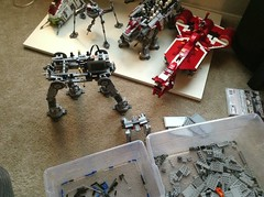Wip at-at (John_Fett) Tags: set star lego wars build atat motorized