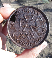 a blast from the past (rovingmagpie) Tags: arizona mine can mining rusted blasting lakemeadnationalrecreationarea blastingcaps sb2013 californiacapco
