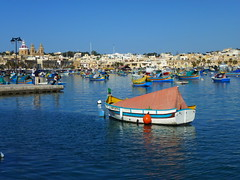 fishing boats (seanofselby) Tags: boats fishing harbour malta marsaxlokk