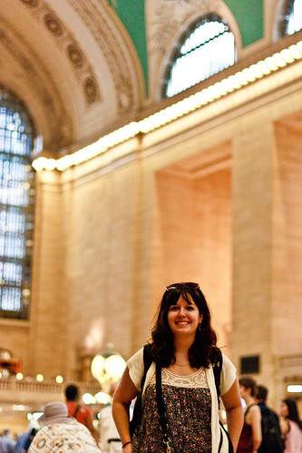Caprice Meets Grand Central for the First Time