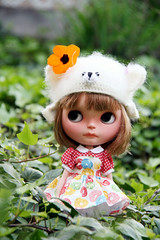 Flower Candy Girl
