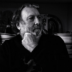 Barba scuro (william-zimpel (away on a long break..Thanks all )) Tags: bw selfportraits canon400d canonzoomlens3575mm