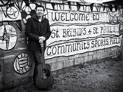 James o Connor  Explored #151 24-3-13 (collybrennan) Tags: camera ireland blackandwhite bw musician irish monochrome club canon mono cool interesting artwork different grafiti guitar exhibition explore potrait enviromental pcc dunamaise portlaoise brigids laois jamesoconnor explored enviromentalpotraiture laoisthroughthelens